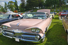Classic american cars (59 dodge) Royalty Free Stock Images