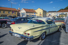 Classic american cars, chevrolet impala Royalty Free Stock Photos