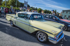 Classic american cars, chevrolet impala Stock Photography