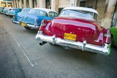 Classic American Cars Havana Cuba Stock Image
