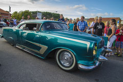 Classic american cars Royalty Free Stock Photos