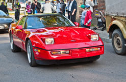 Classic American Chevrolet Corvette car at a car show Royalty Free Stock Image