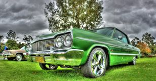 Classic 1964 American Chevy Impala Stock Images