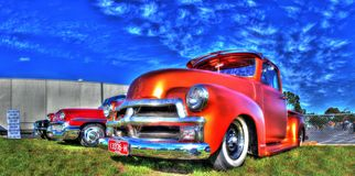 Classic American Chevy truck Royalty Free Stock Images