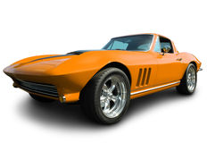 Classic American Corvette Stock Photography
