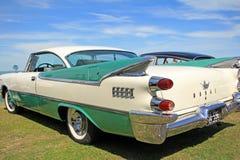 Classic american dodge coronet car Stock Photos