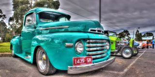 Classic American Ford pickup truck Royalty Free Stock Photo
