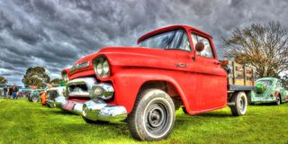 Classic American GMC pickup truck Stock Images