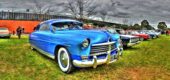Classic American 1948 Hudson Stock Image