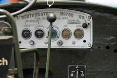Classic American JEEP interior detail Royalty Free Stock Photo