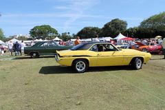 Classic American muscle car Royalty Free Stock Photography