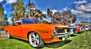 Classic American 1970 Plymouth Barracuda Stock Photography