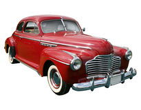 Classic american red car Royalty Free Stock Image