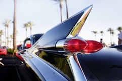 Classic American restored car stock photography