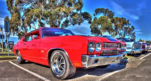 Classic American 1970s Chevy Chevelle Stock Photos