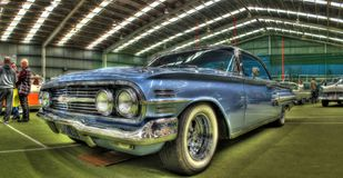 Classic American 1960s Chevy Impala Royalty Free Stock Photos