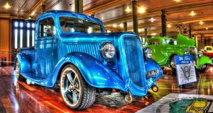 Classic American 1930s Ford pickup truck Royalty Free Stock Images