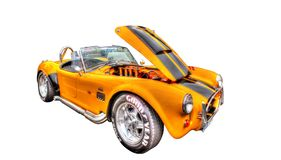Classic American 1960s Ford Shelby Cobra Stock Photos