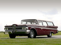 Classic American Station Wagon Royalty Free Stock Photography