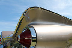 Classic american tailfinned car Royalty Free Stock Images