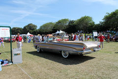 Classic american tailfinned car Stock Photography