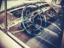 Classic American Truck Interior Stock Images