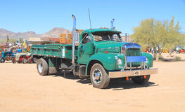 Classic American Truck: 1961 Mack B-61 Royalty Free Stock Photo