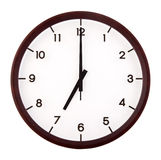 Classic analog clock Royalty Free Stock Photo