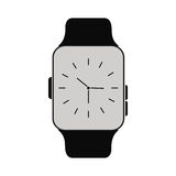 Classic analog watch wearable technology. Vector illustration eps 10 Stock Photo
