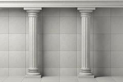 Classic Ancient Columns Stock Photos