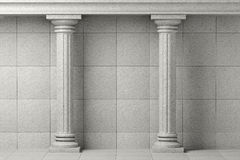 Classic Ancient Columns Stock Photos