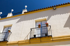 Classic Andalucian Spanish house Stock Photography