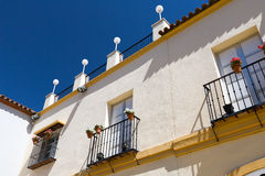 Classic Andalucian Spanish house Stock Image