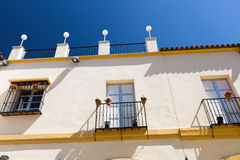 Classic Andalucian Spanish house Royalty Free Stock Image