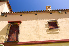 Classic Andalucian Spanish house Royalty Free Stock Photo