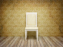 Classic antique interior with chair. Royalty Free Stock Photos