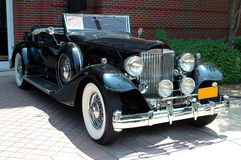 Classic antique luxury car Stock Photos