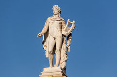 Classic Apollo statue. Athens, greece Stock Photo