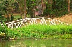 A classic arch bridge  Riverwalk  - Stock Image Stock Photo