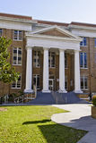 Classic Architecture with Columns. Institutional building with classic columns Royalty Free Stock Photos