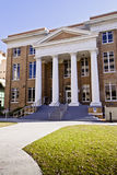 Classic Architecture with Columns. Institutional building with classic columns Stock Image