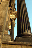 Classic architecture columns Royalty Free Stock Image