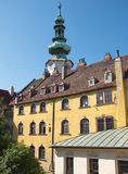 Classic architecture in Old Town Quarter in Bratislava, Slovakia Royalty Free Stock Photography