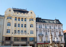 Classic architecture in Old Town Quarter in Bratislava, Slovakia Stock Photos