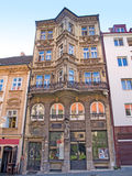 Classic architecture in Old Town Quarter in Bratislava, Slovakia Royalty Free Stock Photo