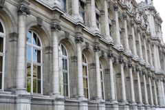 Classic Architecture in Paris Royalty Free Stock Photography