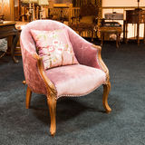 Armchair in a furniture store Royalty Free Stock Photography
