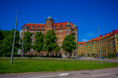 Classic arquitecture in downtown Gothenburg Stock Images