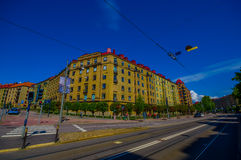 Classic arquitecture in downtown Gothenburg Royalty Free Stock Photography