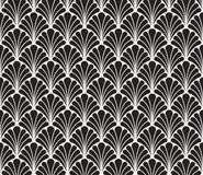 Vector Floral Art Deco Style Seamless Pattern. Abstract Ornament Background. Classic Art Deco Seamless Pattern. Geometric Stylish Texture. Abstract Retro Vector royalty free illustration